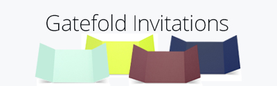 Gatefold Invitations
