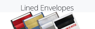LUX Foil Lined Envelopes