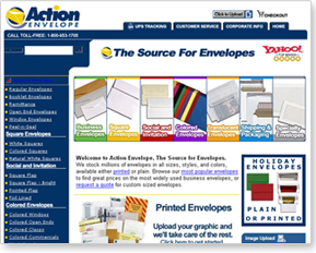 2003 Company Website
