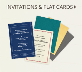 Invitation Flat Cards