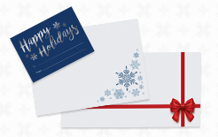 Holiday Printed Envelopes