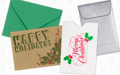 Gift Card Envelopes & Credit Card Sleeves