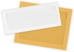 Full Face Window Envelopes