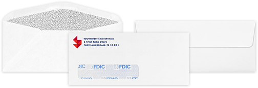 Regular Envelopes & Window Envelopes