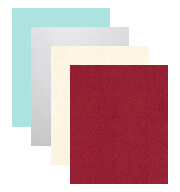Wedding Paper and Cardstock Colors