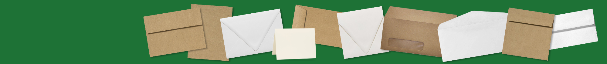 Recycled Envelopes & Stationery