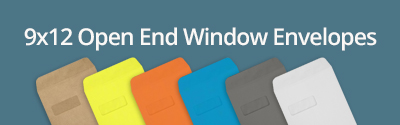 9x12 Open End Window Envelopes