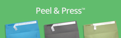 Peel & Press Envelopes