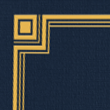 Nautical Blue Linen w/Gold Foil