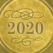 Gold 2020 Ribbon